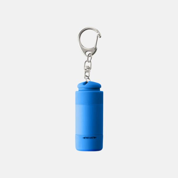Ljusblå Laddningsbara ficklampor med USB-nyckel