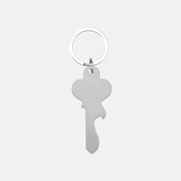 Silver (nyckel) Figurformade öppnare och nyckelringar med lasergravyr