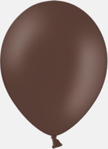 149 Cocoa brown pms 4705 Reklamballonger med fototryck