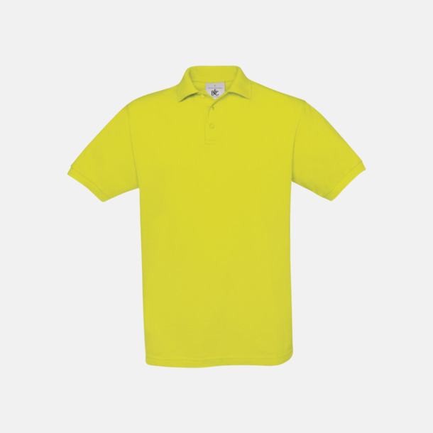 Pixel Lime Kortärmade pikétröjor med egen brodyr
