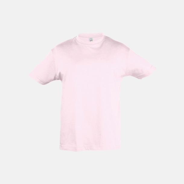 Pale Pink Billig barn t-shirts i rmånga färger med reklamtryck