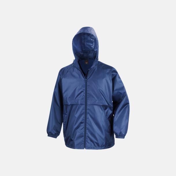 Royal Blue Vindtäta jackor med reklamtryck