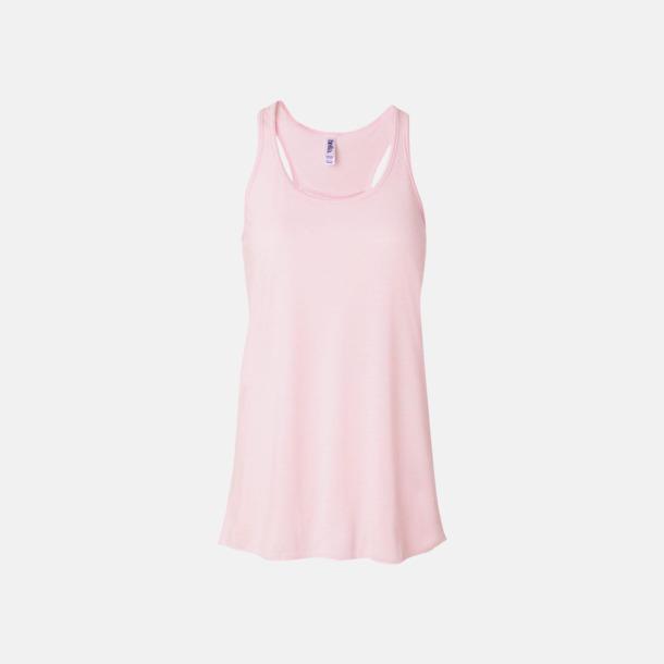 Soft Pink (dam) Dam- & flicklinnen med racerback - med reklamtryck