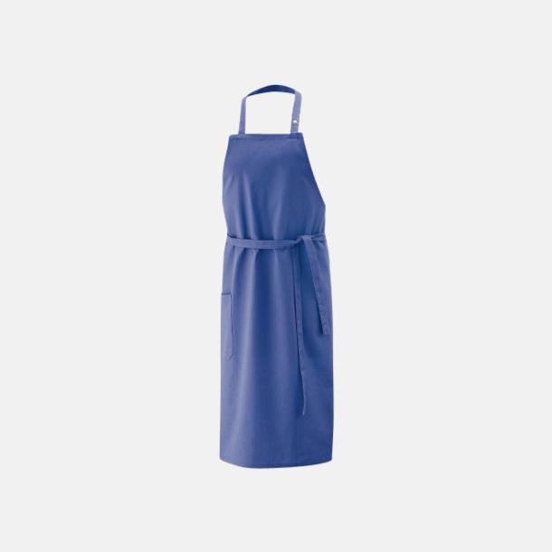 Royal Blue (bib 100 x 80 cm) Förkläden i 5 varianter med reklamtryck