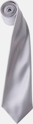 Silver Slipsar i supermånga färger