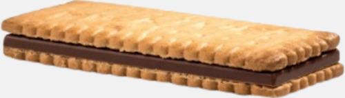 Kex med chokladfyllning - med reklamtryck