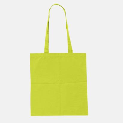 Lime Green (pms 388U) Billiga tygkassar med tryck