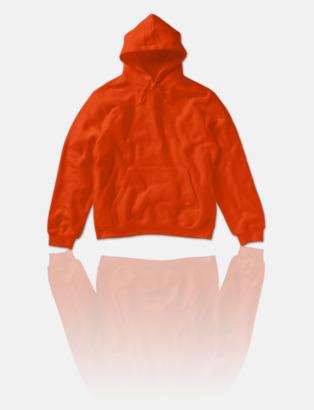 Bright Orange Fina huvtröjor för herr, dam & barn med reklamtryck