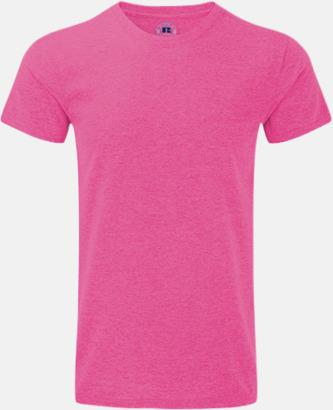 Pink Marl (herr) Färgstarka t-shirts i herr- och dammodell med reklamtryck