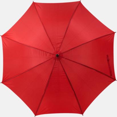Röd Marknadens billigaste reklamparaply