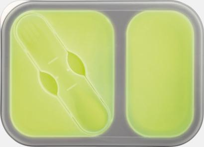 Ljusgrön Silikonmatlådor med reklamtryck