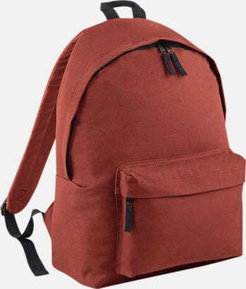 Rust Klassisk ryggsäck i 2 storlekar med eget tryck