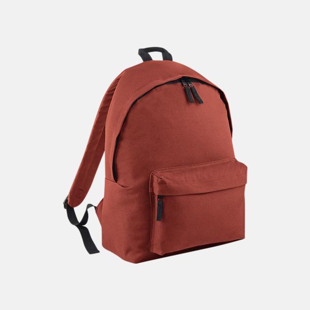 Orange Rust Klassisk ryggsäck i 2 storlekar med eget tryck