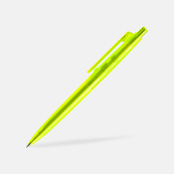Neongul (frostad) Specialdesignade Prodirpennor med reklamtryck