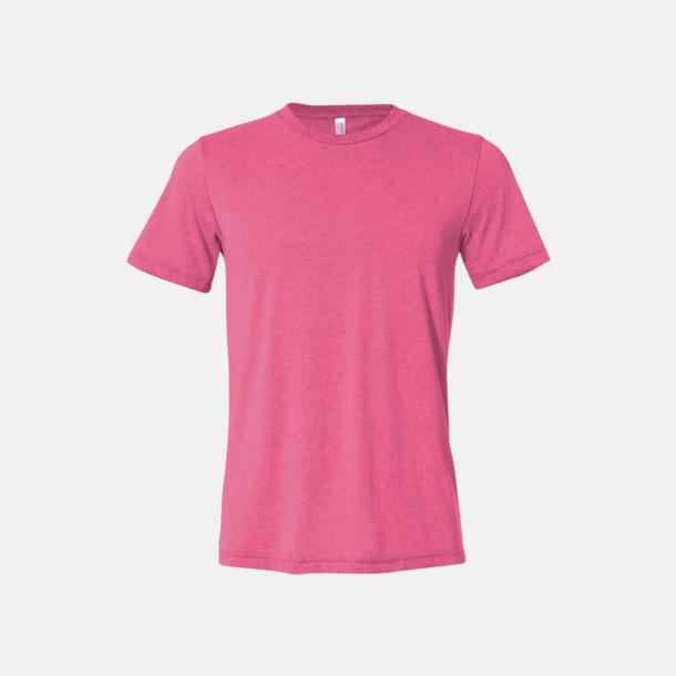 Neon Pink Unisex t-shirts i spräckliga färger med reklamtryck