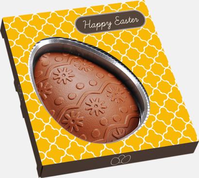 Chokladägg i egen design med reklamtryck