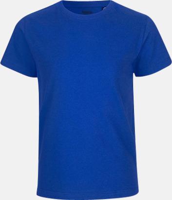 Royal Ekologiska t-shirts för barn av ekologisk bomull - med tryck