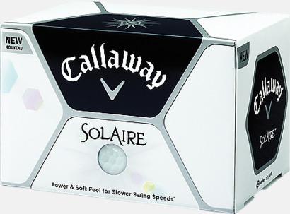 Callaway golfbollar med reklamtryck