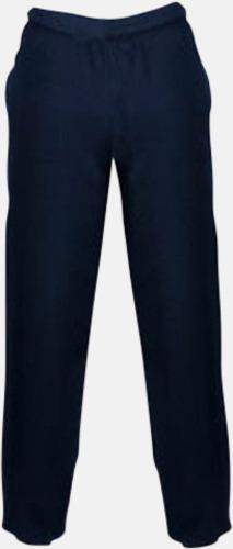 New French Navy Mjuka byxor för barn med reklamtryck