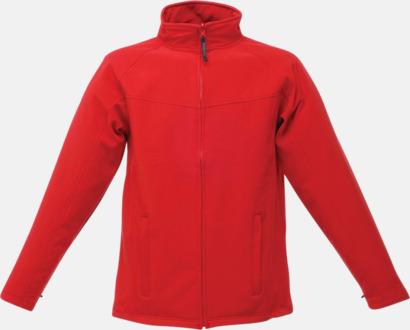 Classic Red/Seal Grey (herr) Soft-shell jackor i herr- & dammodell med reklamtryck