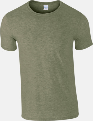 Heather Militärgrön Billiga t-shirts med tryck