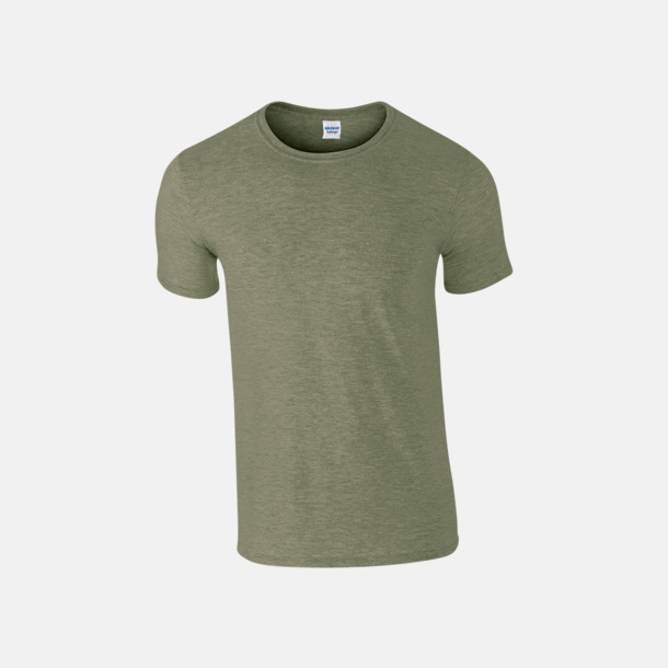 Heather Military Green Billiga t-shirts med tryck