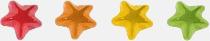 Stjärnor Gelébitar i pyramidpåse med reklamtryck