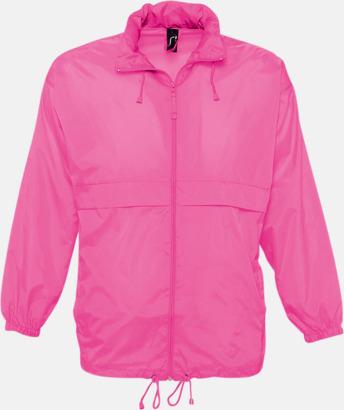 Neon Pink (endast vuxen) Vinjackor för vuxna och barn - med tryck