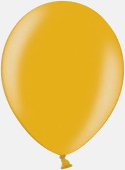 060 Gold Ballonger i unika färger med eget tryck
