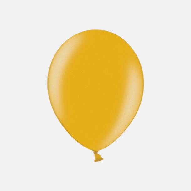 060 Gold (PMS 110 U) Ballonger i unika färger med eget tryck