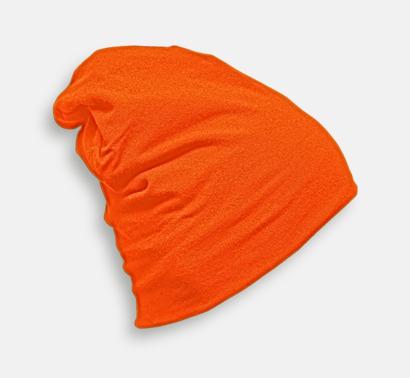 Pumpkin Skräddarsydda bomullsmössor med fleecefoder