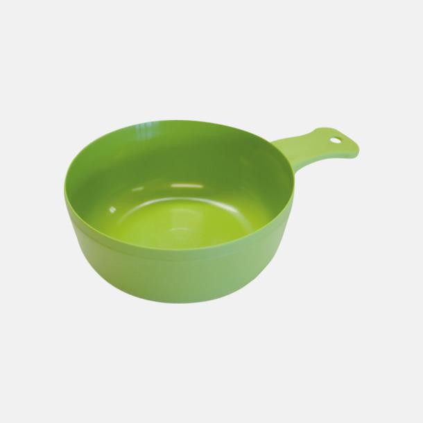 Ljusgrön Matkåsor med tryck