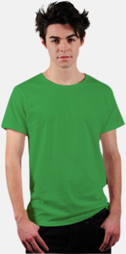 Kelly Green Eko t-shirts i Fairtrade-bomull med reklamtryck