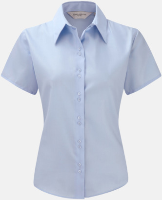 Bright Sky (kortärmad) Strykfri damskjorta