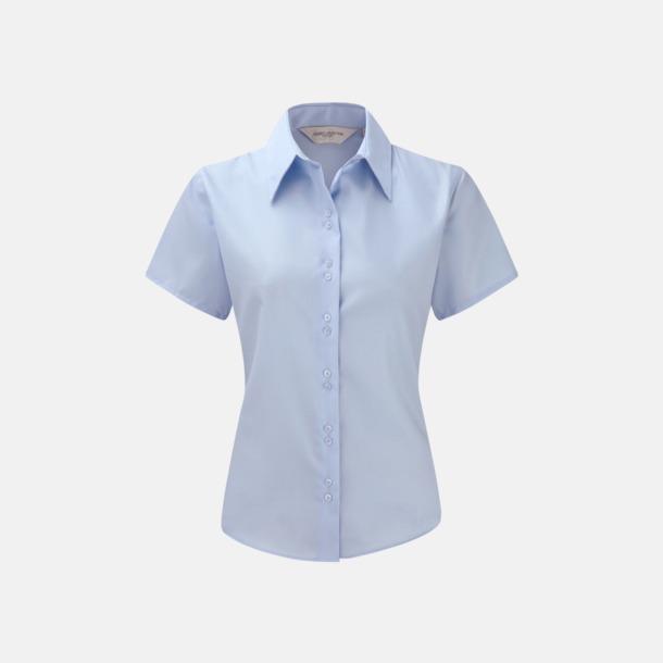 Bright Sky (kortärmad) Strykfri damskjorta med reklamlogo