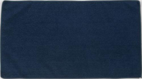 Marinblå Microfiber handdukar i 3 storlekar med reklambrodyr