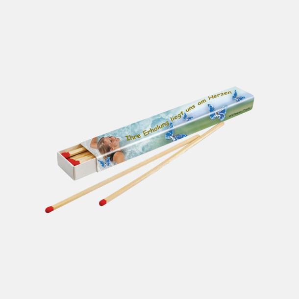 Ca 15 st 15 eller 40 brasstickor i tändsticksaskar med reklamtryck