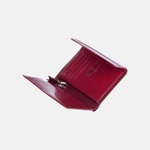 Plånböcker i äkta läder med reklamlogo