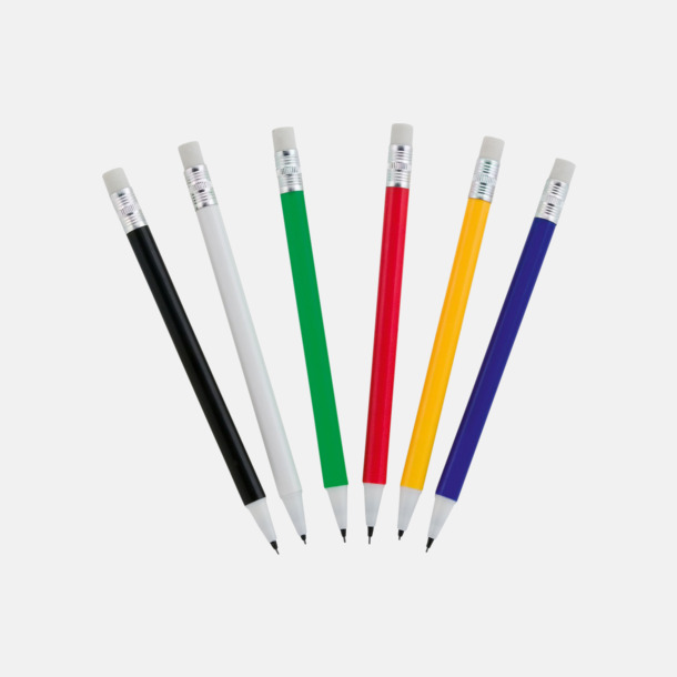 Ovanliga stiftpennor med tryck