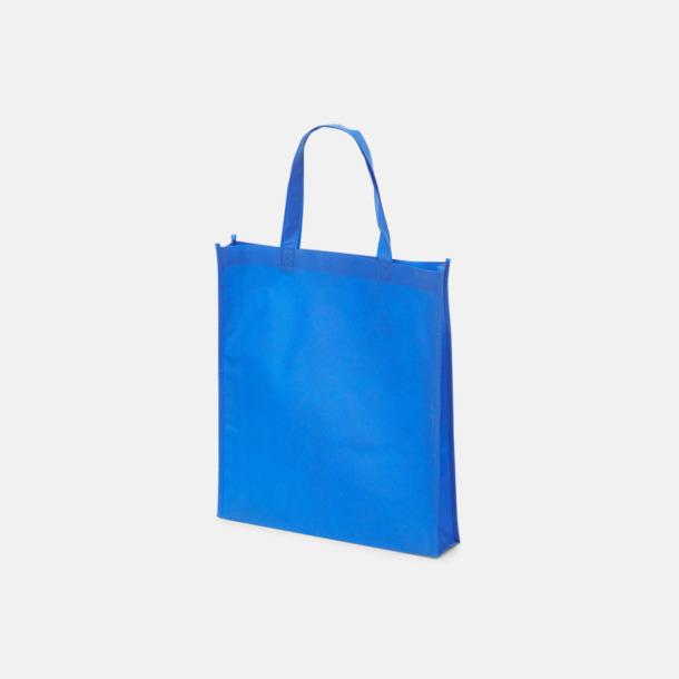 Blå (PMS 2728) Non wovenkassar med reklamtryck