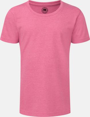 Pink Marl (flicka) Barn t-shirts i u- och v-hals med reklamtryck