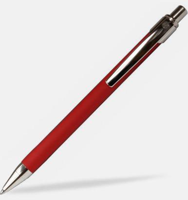 Röd Ballografpennor med eget tryck