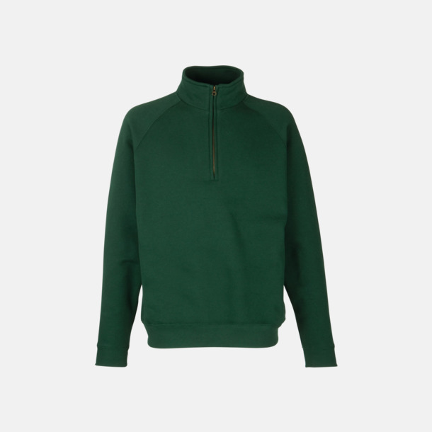 Bottle Green Sweatshirt med tryck