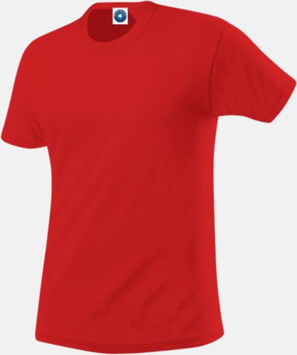 Bright Red (herr) Funktions t-shirts i herr- & dammodell med reklamtryck