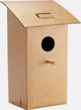 Fågelholk på posten