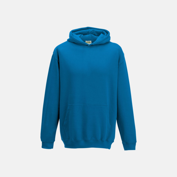 Sapphire Blue Huvtröjor för barn i många färger - med reklamtryck