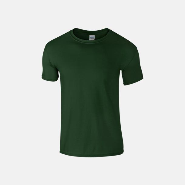 Forest Green Billiga t-shirts med tryck