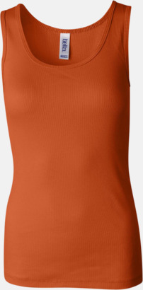 Orange Damlinnen i många färger - med reklamtryck