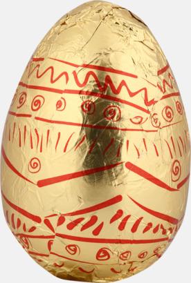 Chokladägg på 10 eller 30 gram med reklamtryck