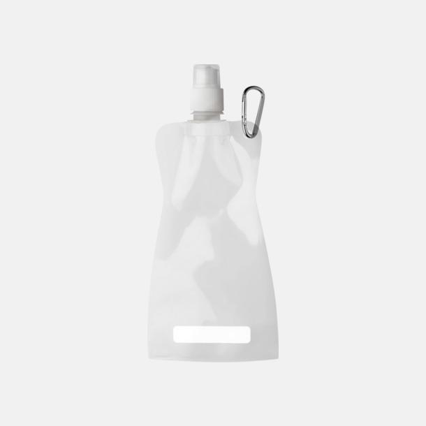 Vit Reklamvattenflaska med egen logga